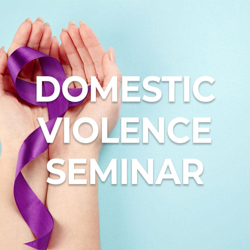 Domestic-Violence-Seminar-Woocommerce